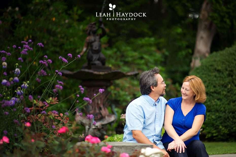 Hampton Nh Engagament Pictures Fuller Gardens Cheryl George Leah Haydock Photography