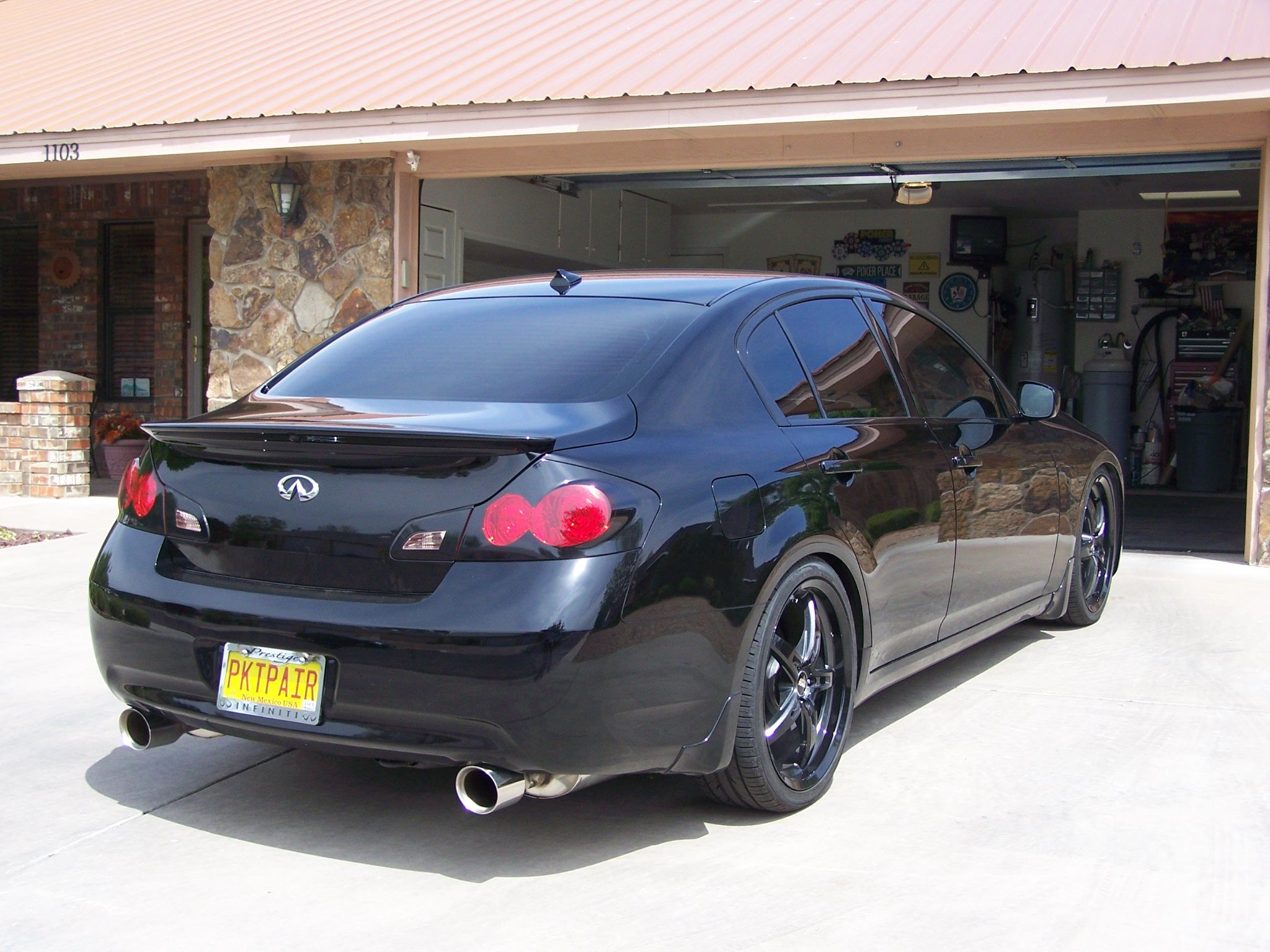 Spoiler or no spoiler g35driver infiniti g35 g37 forum of course once you get the rear spoiler you might want the front one too its a never ending curse lol vanachro Gallery