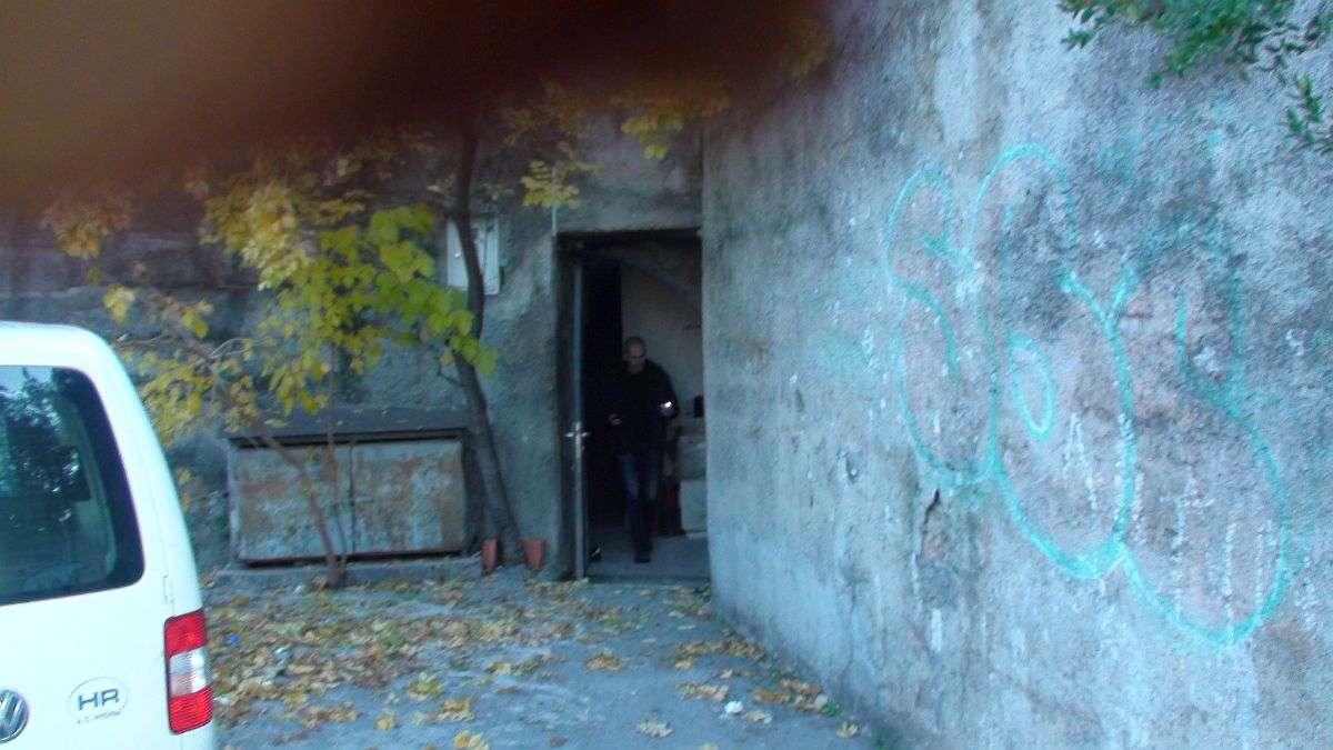 tunel sklonište baredice